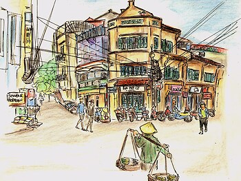 Ta Hien Street - Hanoi