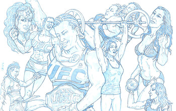 MIESHA TATE: UFC's Latest Wonder Woman (Splash Pg)