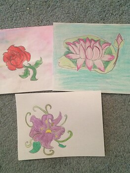 Flower Card Project!
