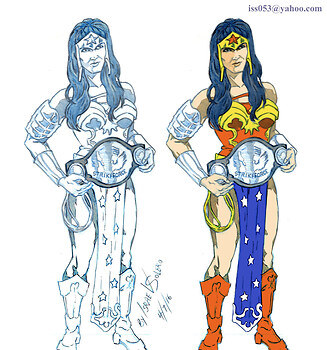 UFC Champion Miesha Tate as Wonder Woman (prelim)
