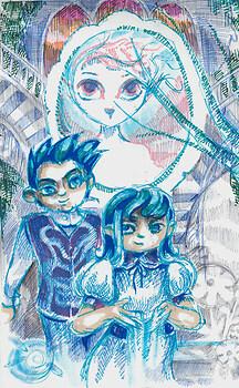 blueblood twins sketch-up