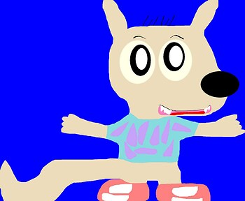 Boredom Rocko Altered a Bit MS Paint
