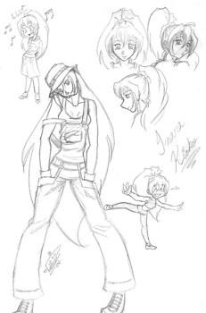 Inara - character sketch