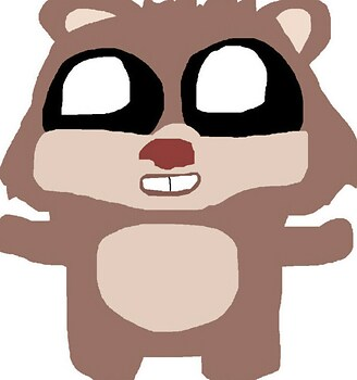 Ewok Teddy Bear Plush For The 4th MS Paint