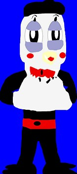 Mime Bird In Tux MS Paint