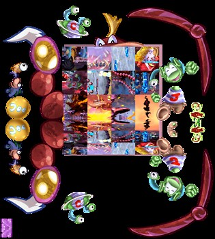 Rayman Texmod Compilation 5