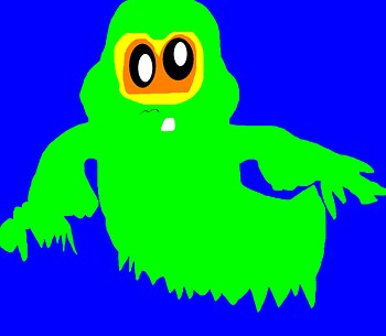 Slime Time MS Paint