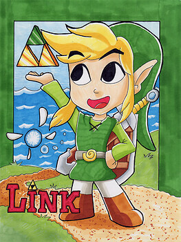 Link Wind waker Copic