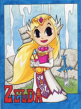 Zelda WW Copic