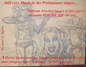 Harley Quinn (Prelim Layout)