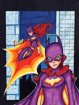 Batgirl copic