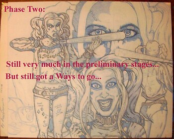 Harley Quinn Part 2 Prelim