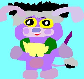 Random Cedric Popple Again MS Paint^^
