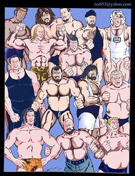 RETRO Wrestlers Of the WWF