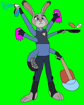 Overworking Judy Hopps