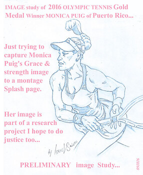 Olympic Gold Medalist: MONICA PUIG (study)