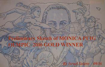 Pt. 2 Monica Puig; Olympic Gold Winner (Study)