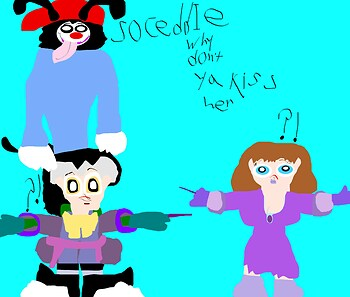 So Ceddie Why Don't Ya Kiss Her MS Paint
