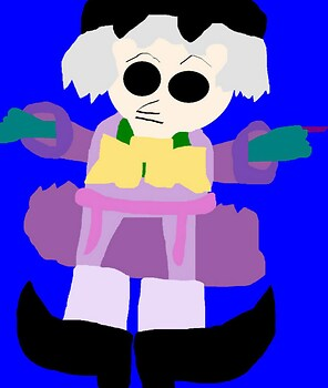 Ceddie Doll Plush  MS Paint