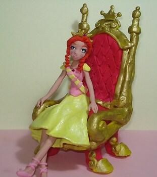 Claymation request Ballerina Queen