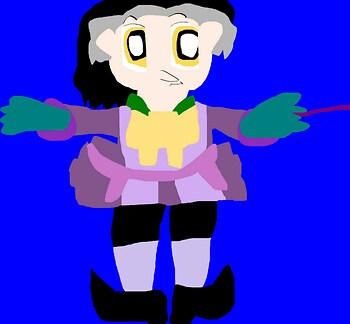 Just A Cute Random Cedric Chibi  MS Paint^^