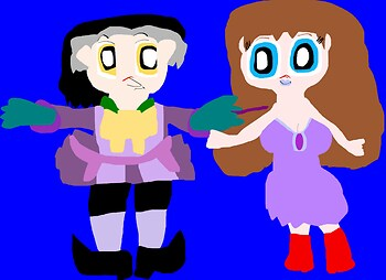 Just A Cute Random Cedric Chibi Sofia Added Ms Paint^^