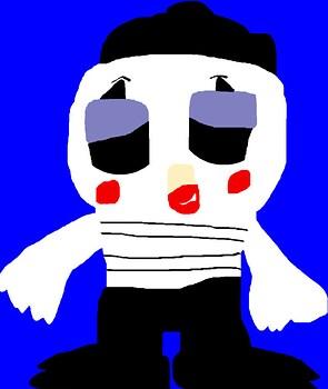 Mime Bird POP MS Paint