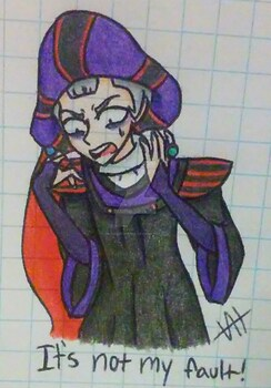(The Hunchback of Notre-Dame) Claude Frollo
