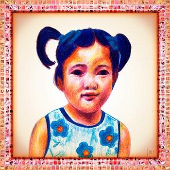 Miku Miku in Colour Pencils