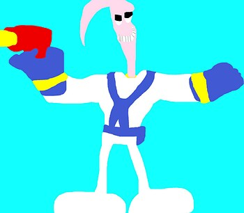 Random Earthworm Jim Newer For 2017 MS Paint^^