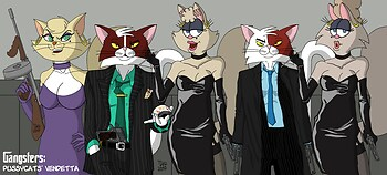 The Pussycats' Vendetta: Family Picture (color)