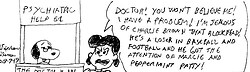 Lucy visit Snoopy the psychiatrist