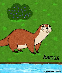 Artie the Otter