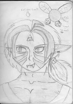 Evil Oni-Link